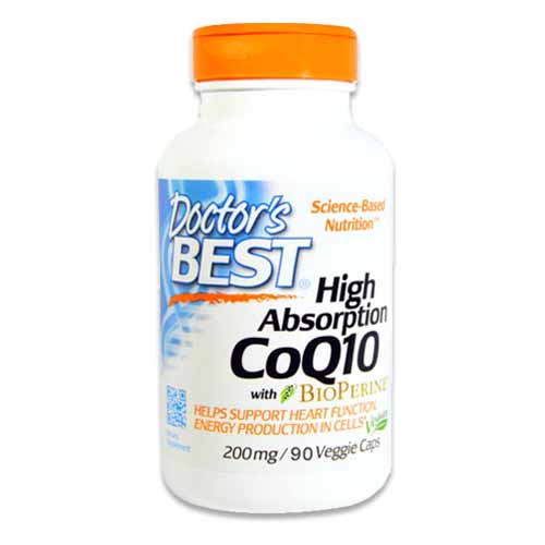 DOCTORS BEST HIGH ABSORPTION CoQ10 200mg