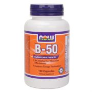 VITAMÍN B KOMPLEX 50mg 100 TBL. Now